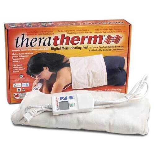 Theratherm Digital Moist Heat Pad--Small  7 x15