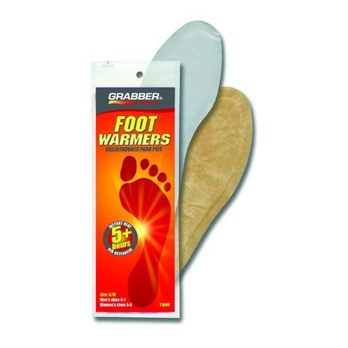 Foot Warmer Grabber(1 Pair/pk) Small/Medium