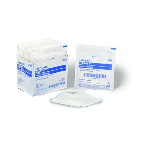 Curity Gauze Sponge 2  X 2  8-Ply Sterile (50 pks of 2)
