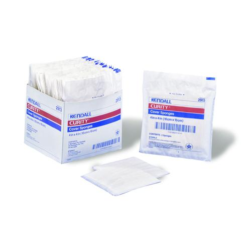 Curity Cover Sponges 3 x4  Bx/25-2'S