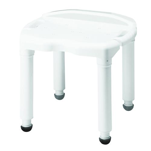 Bath Bench Composite W/O Back Knock-Down - Retail - Carex