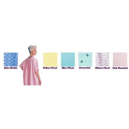 Snapwrap Gown Reusable Green Geometric Print