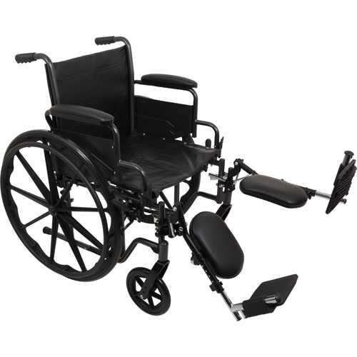 K2 Wheelchair 16 x16   Removbl Desk Arms  Elevating Legrests