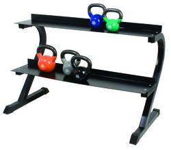 Category: Dropship Exercise & Fitness, SKU #103198, Title: Kettlebell Rack Cando Studio Rack