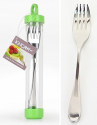 Knork (Knife and Fork Comb.) Stainless Steel--Duo Finish