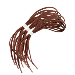 Shoe Laces Elastic Brown 30  Pk/3 pr.