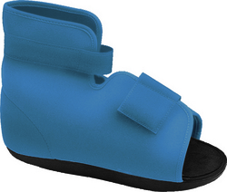 Slimline Cast Boot Navy Pediatric Medium