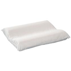 Contoured Foam Cervical Pillow Standard w/White Cover