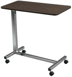 Overbed Table Non-Tilt w/Chrome Base & Mast