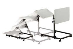 Overbed Table Pivot and Tilt Multi-Position