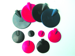 Carbonflex Electrodes-Silicone Insulated Diam 4  Blk