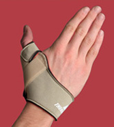 Flexible Thumb Splint  Left Large  Beige  7.75 -8.75