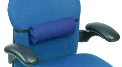 Half Roll Lumbar Back Support Roll w/Strap