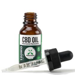 CBD Oil 100mg  Size 15 ml by Green Roads