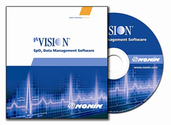 Category: Dropship Medical, SKU #NVS, Title: Nonin nVision 6.3 Software for Oximetry Screening & 6MWT