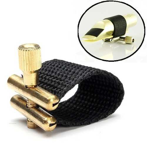 Ligature for Soprano Alto Tenor Saxophone Mouthpiece