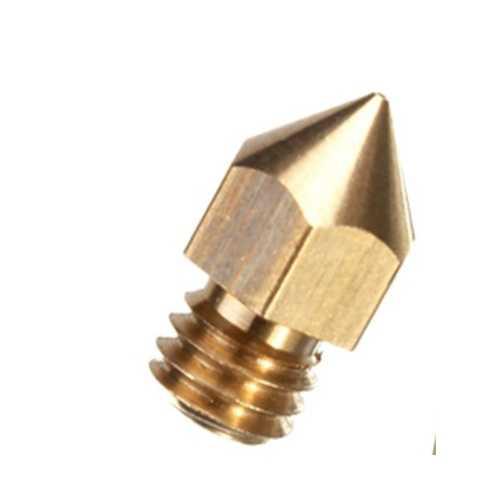 0.4mm 3D Printer Extruder Nozzle For 1.75mm Filament