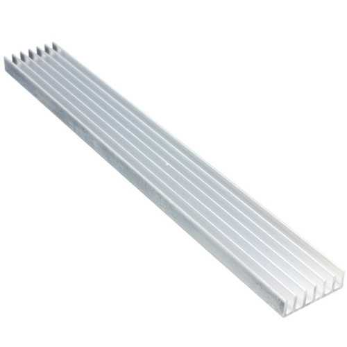 1W/3W/5W High Power LED Heat Sink LED Cooling for Aluminum Plate 15CMx20MMx6MM