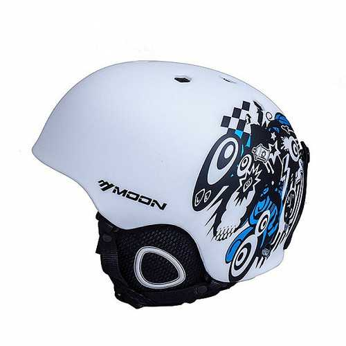 MOON Ski Helmet Safety Skiing Helmet Snowboard Sport Head Protection Bicycle Helmets
