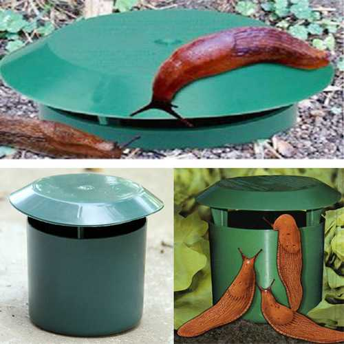 Honana HG-GA1 Vegetable Garden Safe Snail Trap Physics Environmental Limax Snail Slug Trapper