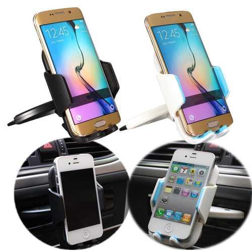 55-85mm Univeral Car CD Slot Dash Mount Holder Cradle Dock for Smartphone