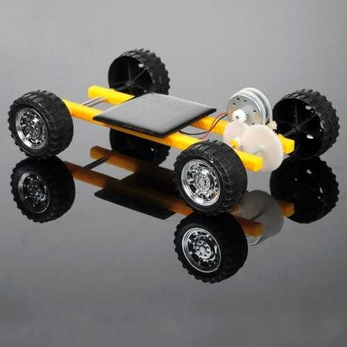 DIY Solar Power Toy Mini Car for Children