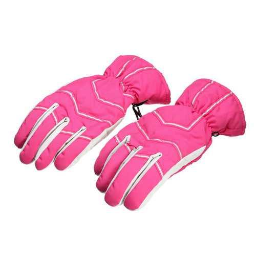 Waterproof Ski Gloves Warm Winter Riding Warm Windproof Gloves