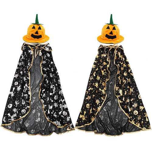 Children Kids Halloween Cloak Witch Dress Fancy Dress Cosplay Party Costume