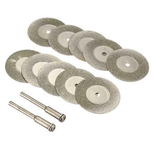 10pcs 30mm Diamond Saw Blade Rotary Cutting Wheel Blade