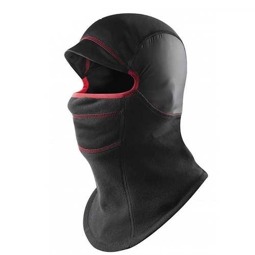 Double Layers Thicken Warm Full Face Cover Ski Mask Unisex Motorcycle Fleece CS Hat