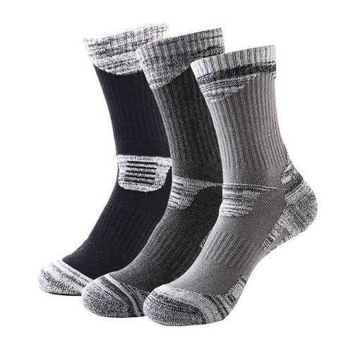 Men Winter Skiing Socks Outdoor Cycling Hiking Socks Winter Warm Socks