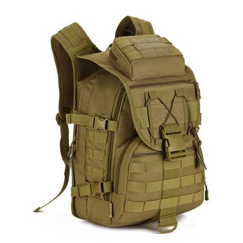 Men Large Capacity Camping Multipurpose Outdoor Hiking Travel 14 Inch  Computer Bag Nylon Backpacks