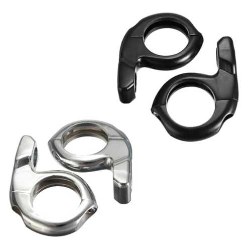 1inch 25mm Handlebar Mirrors Turn Signal Adapter Mounts Clamp ATV Motorcycle Bike
