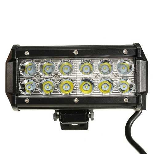 12V 24V 36W LED Working Bar Spot Lightt Fit for Off Road Ute ATV UTE SUV