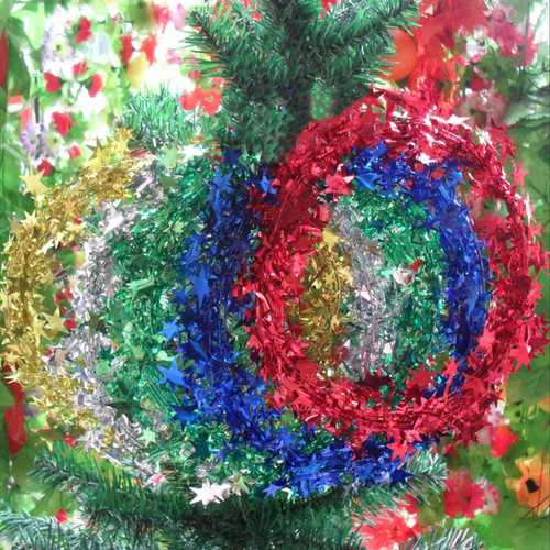 5M Christmas Xmas Tree Decoration Star Rattan Ornament