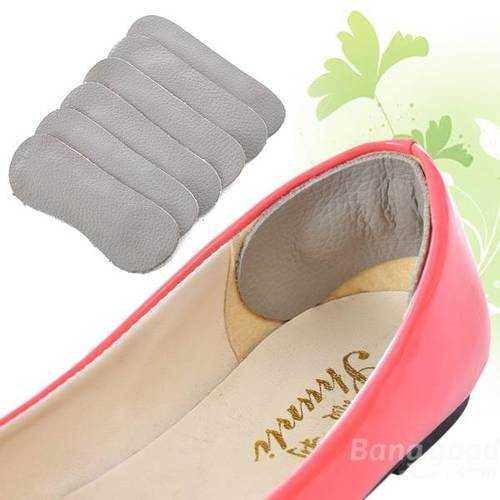 5 Pairs Leather Shoes Feet Foot Run Walk Care Inside Soft Protection Thickening Heel Arch Cushion Mats Pads