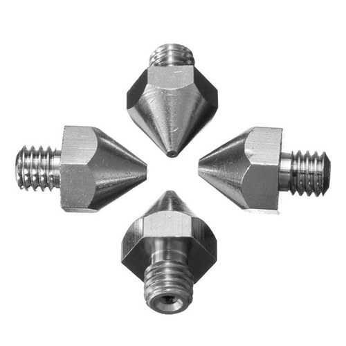 0.2mm/0.3mm/0.4mm/0.5mm MK8 3D Printer Extruder Nozzle