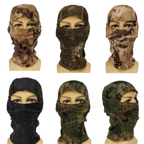Army Riding Outdoor CS Tactical Military Balaclava Full Face Mask