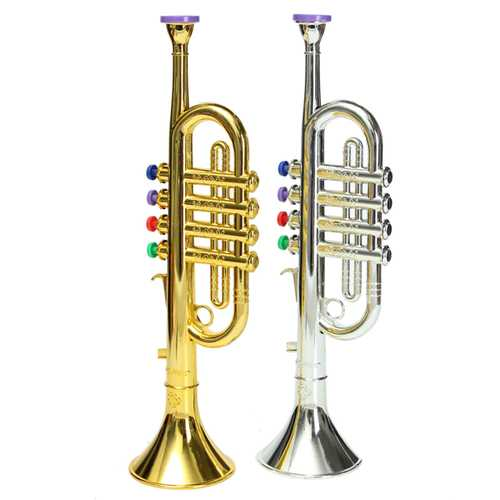 Emulational Horn Trumpet Musical Instrument Toy Kids Gift