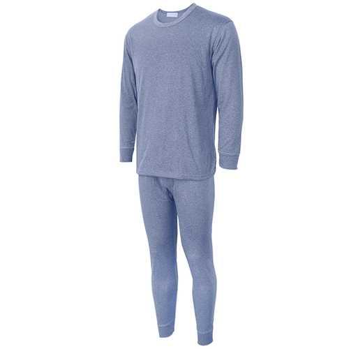 Mens Thermal Underwear Velvet Thickening 37 Degrees Thermostatic Sleepwear Underwear Suits