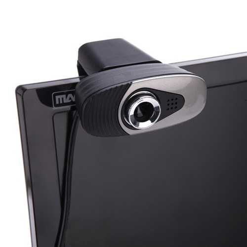 USB 2.0 Webcam Digital Video HD 12 Megapixels 30 FPS Webcamsera with Sound Absorption Microphone