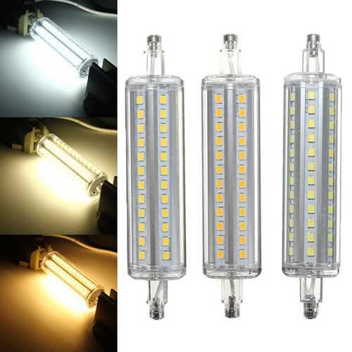 R7S Non-dimmable 118MM LED Bulb 10W 72 SMD 2835 Flood Light Corn Tube Lamp AC 85-265V