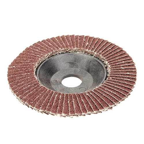 100mm x 8mm 60 Grit Flap Sanding Disc Grinder Wheel