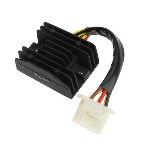 Motorcycle Voltage Rectifier Regulator YHC-090 For Kawasaki EL250 EL252 EN400 EX250 KLE400
