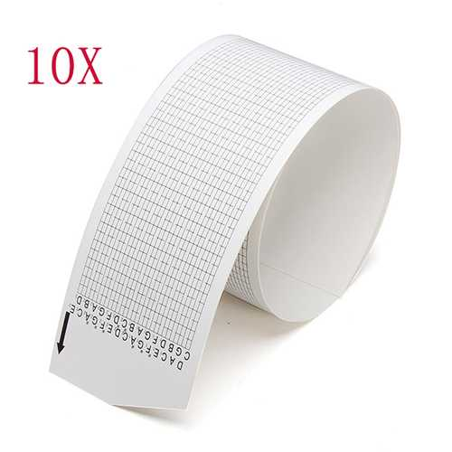10pcs Paper Tape Strip For 30 Note DIY Music Box Or Movement