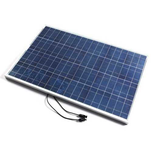 12V 100W 1000 X 670 X 30MM PolyCrystalline Solar Panel With Cable