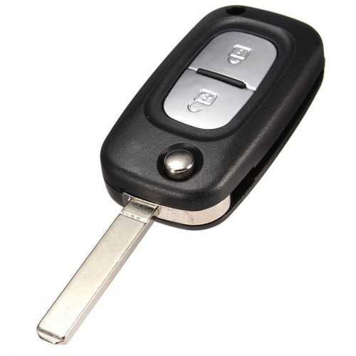 2 Button Remote Key Fob Case Shell For Renault Clio Kangoo Megane + Bland Blade