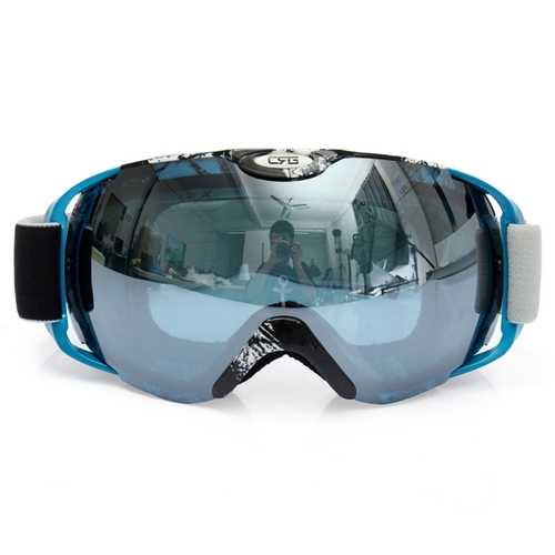 Anti Fog UV Dual Lens Outdooors Snow Snowboard Ski Goggle Motor Bike Riding Helmet Goggles