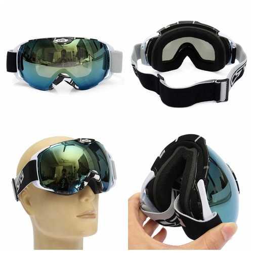 Anti Fog UV Dual Lens Outdooors Snow Snowboard Ski Goggle Motor Bike Helmet Goggles
