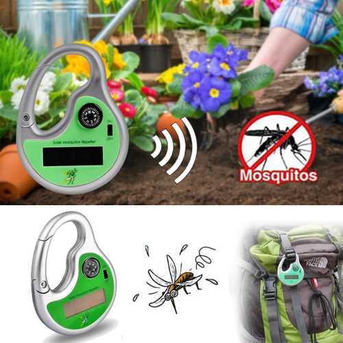 Honana HG-GA2 Garden Sonic Wave Mosquito Repeller Outdoor Portable Solar Power With Compass